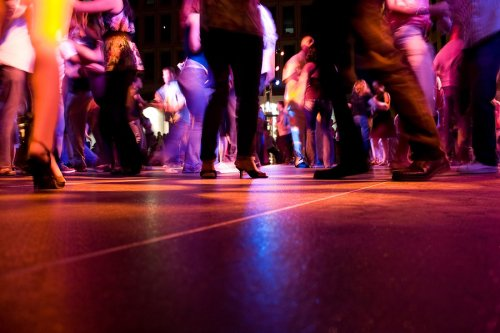 People Dancing on a Dance Floor